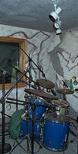music recording booth
